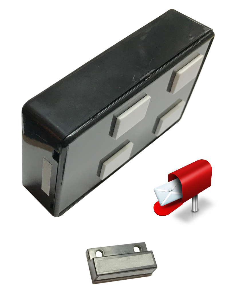 Mailbox Door Magnet Amp Yellow Salt Box Welcome Primitive